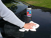 shine with clean polishing cloth